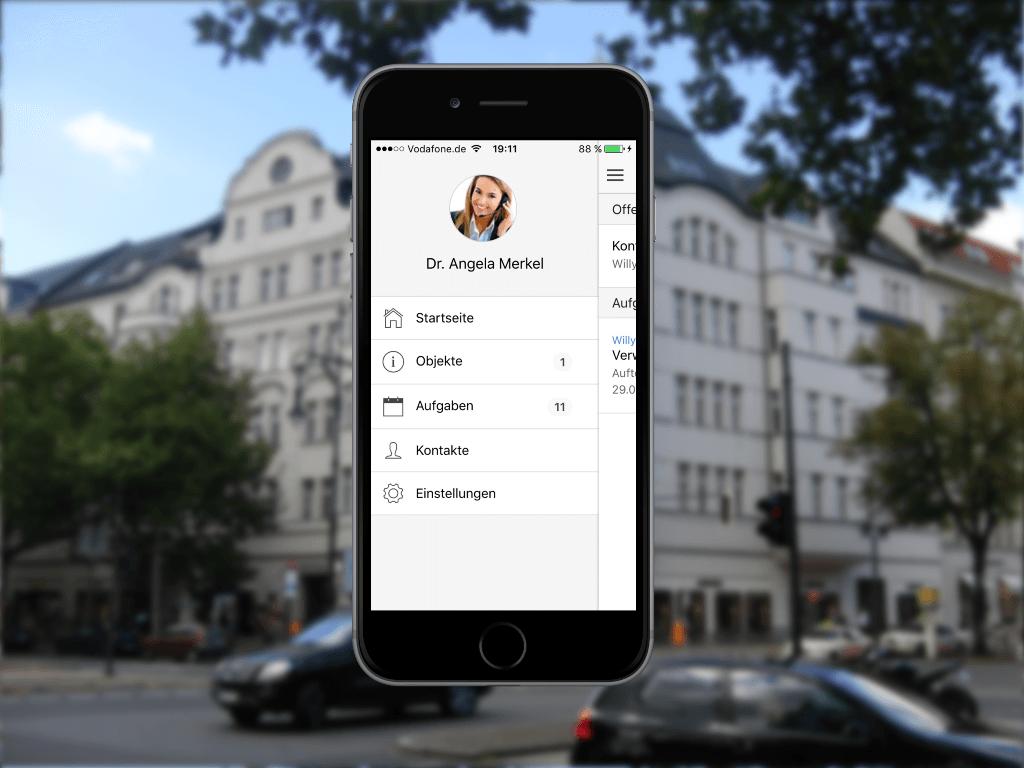 WEG Verwaltung Hausverwaltung Mobiler Zugriff App